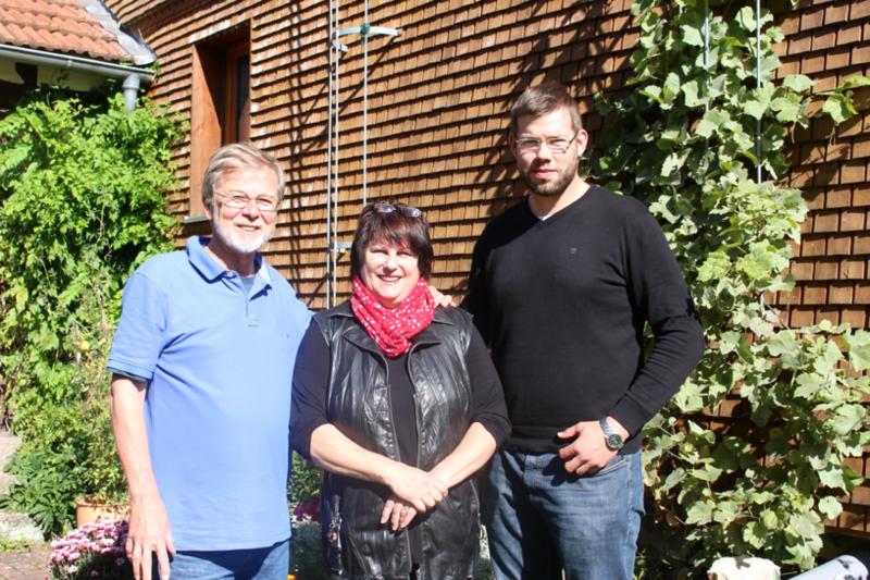 Jan Rüffer und Amöne Nowottny zu Nachfolgern von Udo Weiß als Sprecher des Grünen Ortsverbands gewählt