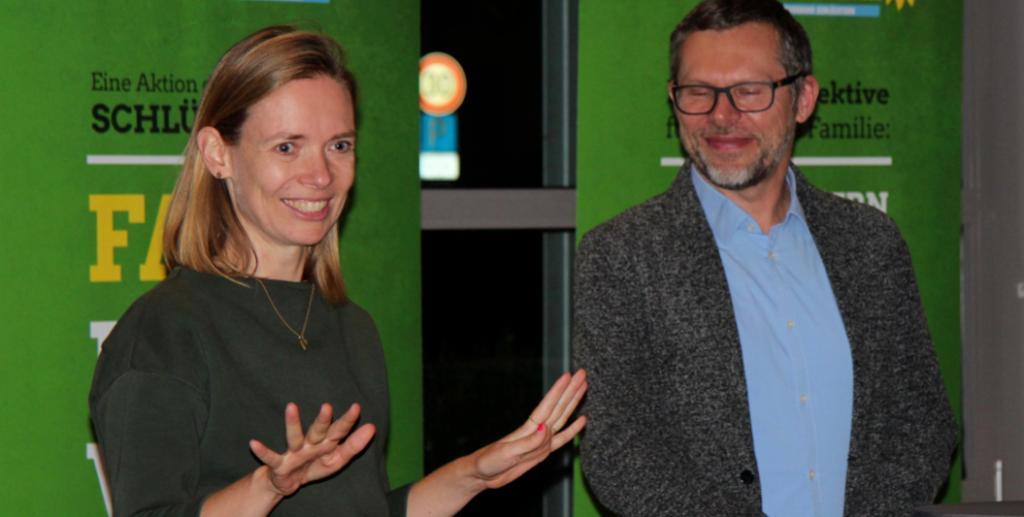 Anna Cavazzini und Günther Koch präsentieren Grüne Ideen für eine lebenswerte Zukunft