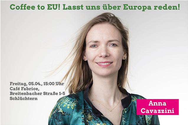 Anna Cavazzini kommt nach Schlüchtern!