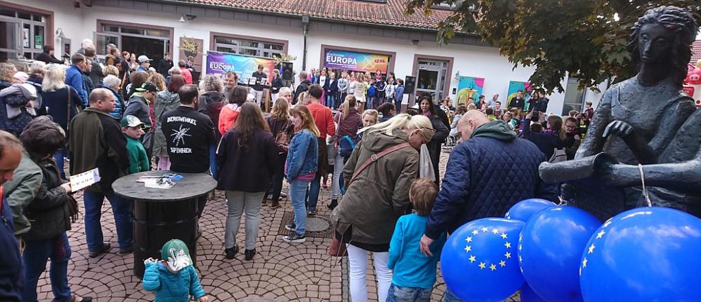 Großes, buntes Europafest in Schlüchtern (Update)